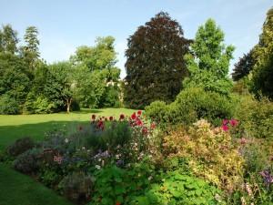 Jardínes del Castillo de Compiègne (Francia)