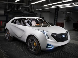 Hyundai Curb Crossover blanco