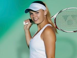 Caroline Wozniacki, jugadora de tenis profesional danesa