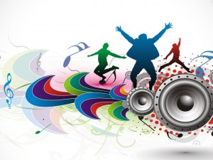 Bailando al ritmo de la música