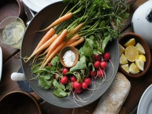 Zanahorias y rabanitos