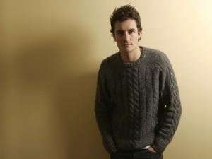 El guapo Orlando Bloom con un jersey de lana