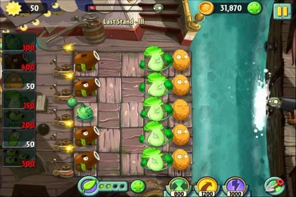 Plantas contra Zombis 2 (Mares Piratas)