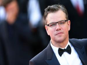Matt Damon elegante en un festival