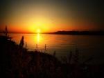 Reflejos al amanecer