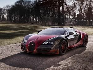 Bugatti Veyron Grand Sport Vitesse en un camino