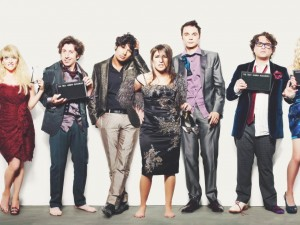 "El elenco de la serie ""Big Bang Theory"""