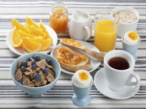 Un desayuno sano y completo