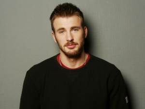 El guapo actor Chris Evans