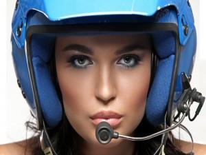 La piloto de rallies y modelo Inessa Tushkanova