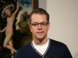 El guapo actor Matt Damon