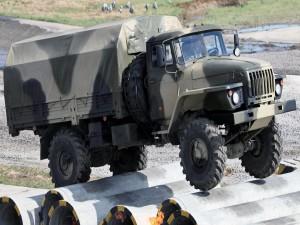 Un Ural-4320 camión todo terreno