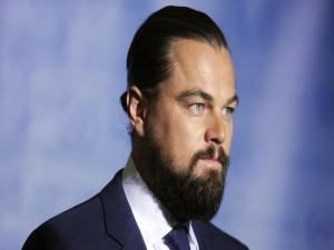 Leonardo DiCaprio con barba