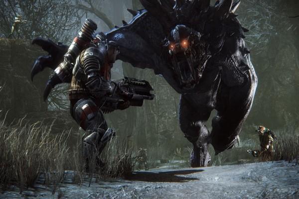 Cazando a un monstruo en Evolve