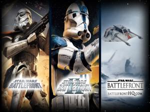 """Tres sagas del juego """"Star Wars: Battlefront"""""""
