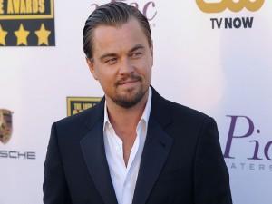 Leonardo DiCaprio en un fotocol