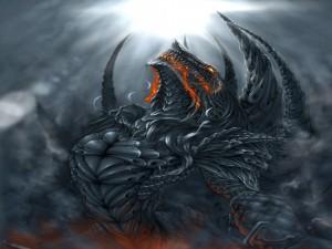 Dragón poderoso