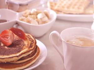 Tortitas y café