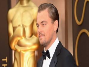 Leonardo DiCaprio en Los Oscars