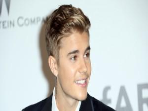 Un sonriente Justin Bieber