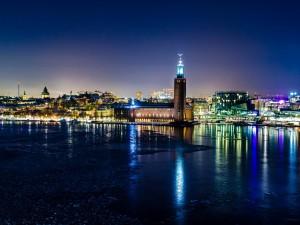 Noche en Estocolmo (Suecia)