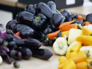 Vegetales de colores