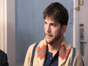 El guapo actor Ashton Kutcher