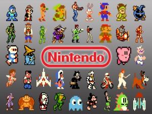 Personajes de varios juegos de Nintendo