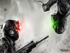 Splinter Cell: Blacklist (Spies vs Mercs)