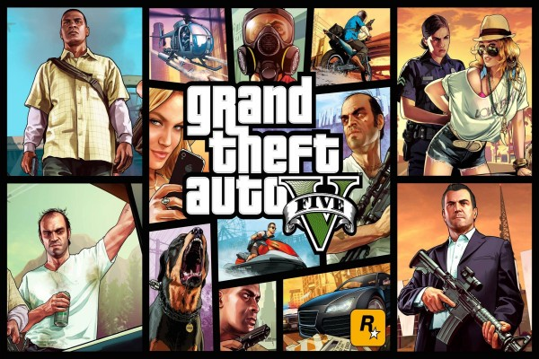 GTA Five (Grand Theft Auto V)
