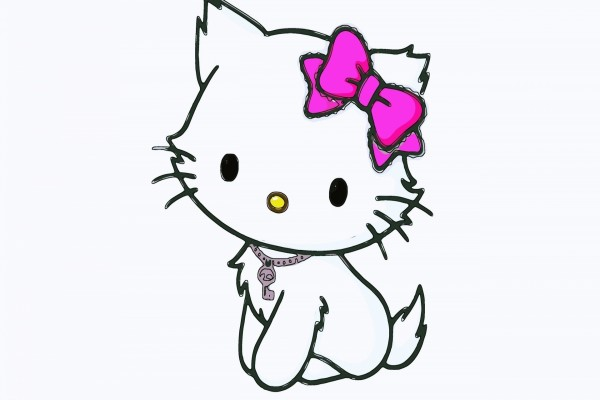 La encantadora Hello Kitty