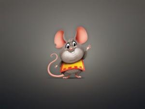 Un divertido ratoncillo