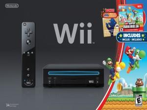 Wii con un juego de Super Mario Bros (Nintendo)