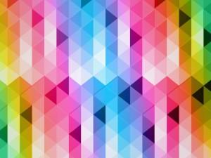 Formas geométricas de colores