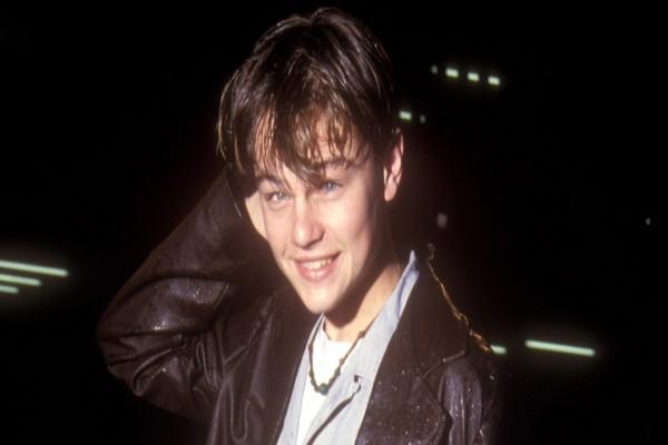Un jovencísimo Leonardo DiCaprio