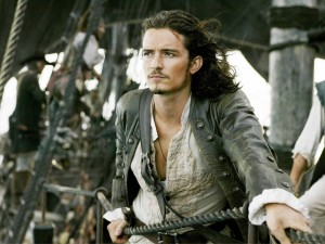 "Orlando Bloom en ""Piratas del Caribe"""