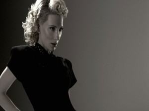 La hermosa actriz Cate Blanchett