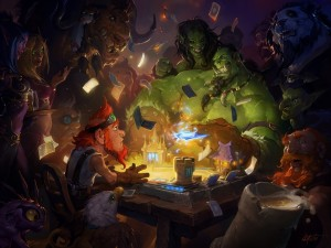 "Jugando a ""Hearthstone: Heroes of Warcraft"""