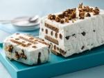 Tarta helada de galletas y nata