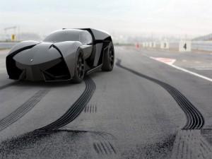 Lamborghini Ankonian en un circuito