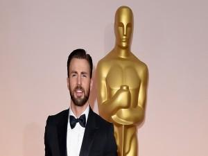 Chris Evans en Los Oscars