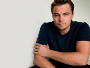 Intensa mirada del actor Leonardo DiCaprio