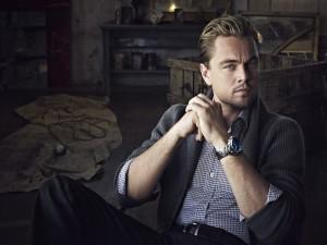 Leonardo DiCaprio con una mirada seductora