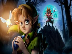 "Imagen del juego ""The Legend of Zelda: Majora's Mask 3D"""