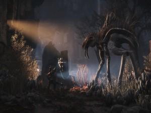 Escena del juego Evolve