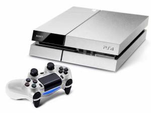 Consola y mando PS4