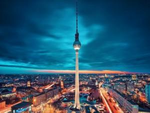 Amanecer en Berlín