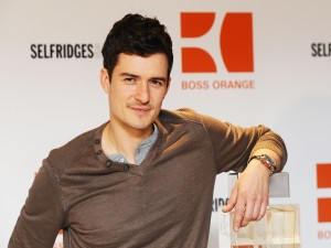 "Orlando Bloom publicitando el perfume para hombre ""Boss Orange"""