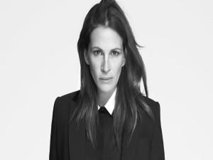 Julia Roberts en blanco y negro