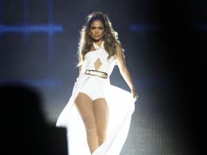 Jennifer Lopez en un concierto